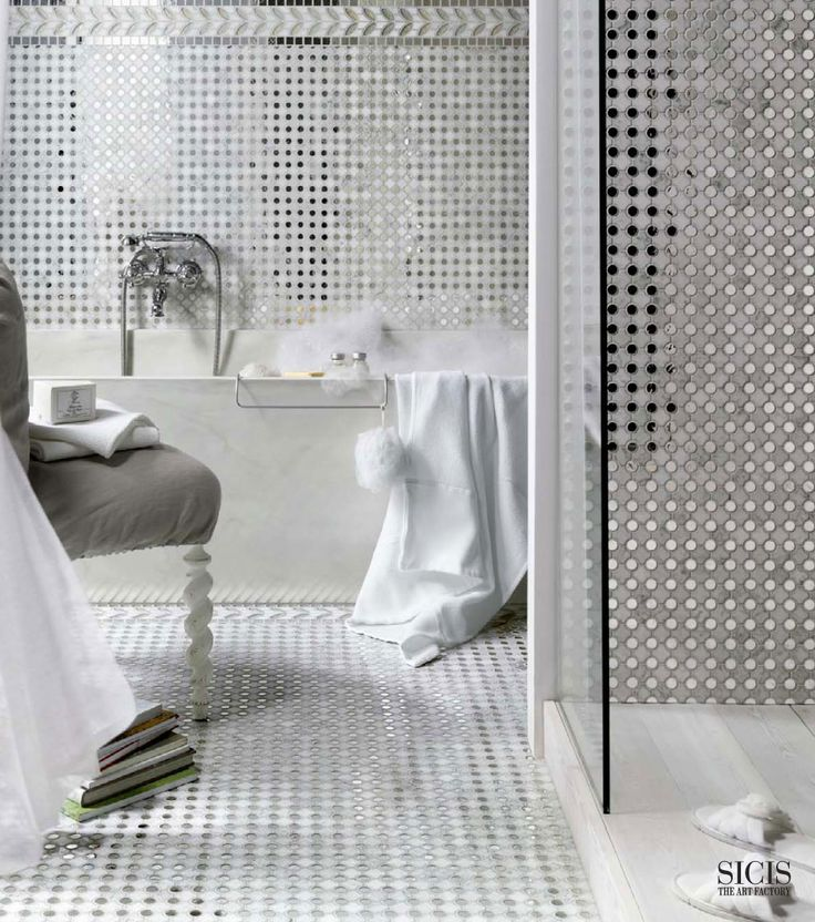 Mosaic Bathroom Tile Ideas: 1000+ Ideas About Mosaic Bathroom On Pinterest