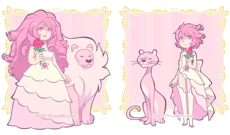 Why is it when I look at Rose Pearl's lion, I don't see a lion but the Pink Panther?