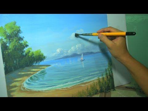 Seascape time-lapse acrylic painting by JM Lisondra ...