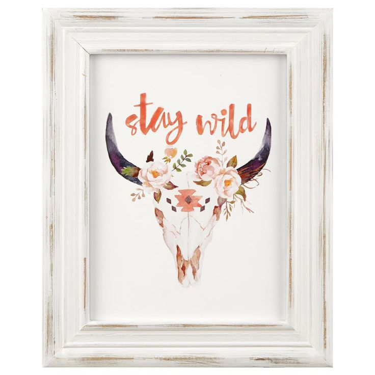 Cow Skull Framed Art | Bouclair.com