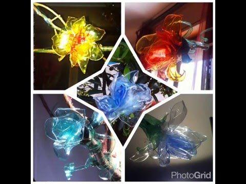 #flowers #plasticbottles #bottiglie di plastica. - YouTube