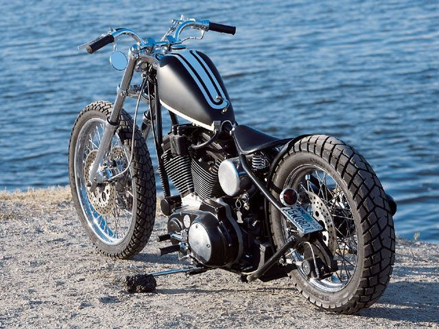 2001 Custom Sporty... Love that bobber look. #harleydavidsonsportsternightster #harleydavidsontrikecustombobber