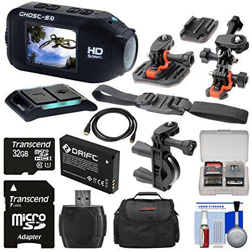 #photooftheday #art Kit includes: ? 1) #Drift Innovation HD Ghost-S Wi-Fi Waterproof Camcorder ? 2) Drift Innovation Li-ion Battery ? 3) Transcend 32GB microSDHC...