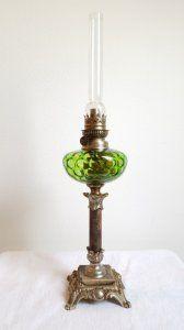 lampa naftowa kolumnowa marmur depose (6137082766) - Allegro.pl - Więcej niż aukcje.