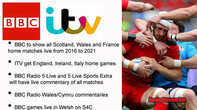 Six Nations 2017 Rugby Coverage Rights on BBC and ITV. Give you Coverage to full TV Online 2017 Six Nations Rugby you were in the UK. USA, NZ and Aus