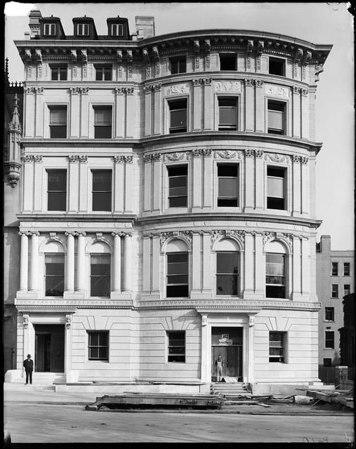 Payne Whitney-Hay House. (Right) 972 Fifth-Avenue-NYC. Now the Embassy of France.
