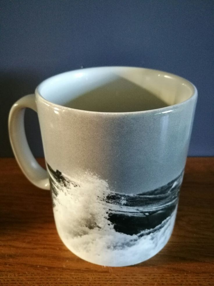"Coffee mug, ""sea"""