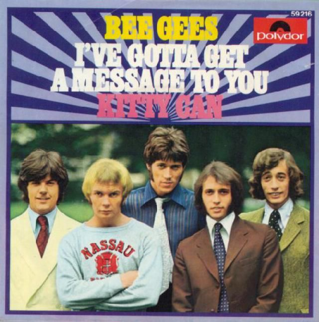 """The Top 10 Best Bee Gees Songs: """"I've Gotta Get a Message To You"""" (1968)"""