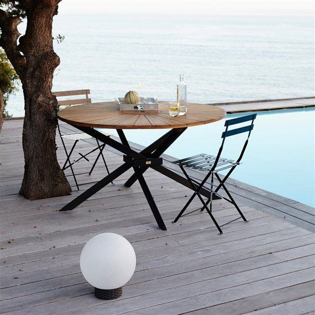 Une table d 39 ext rieur qui ensoleillera votre terrasse par for Table qui s agrandit