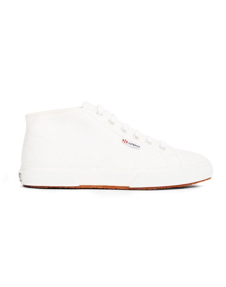 SUPERGA - 2754 Cotu Mid In White