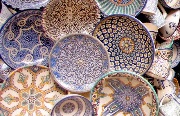 #Moroccan #pottery.