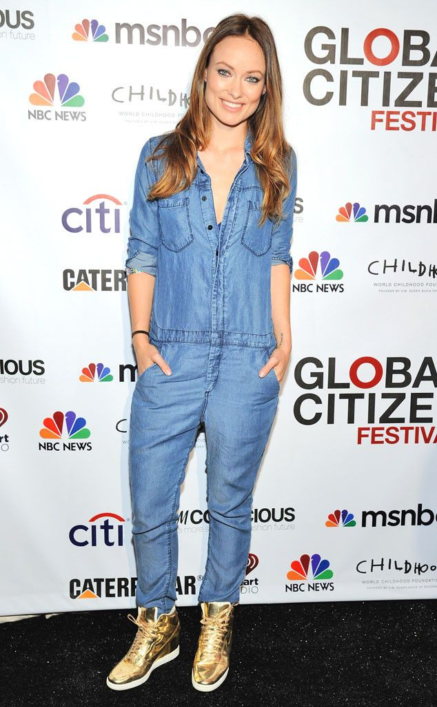 denim jumpsuit. i could live in this.