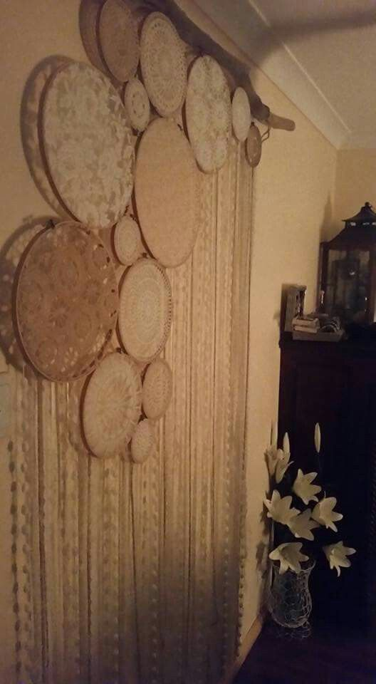 Krissy Jay's ~ Wall collage dreamcatcher