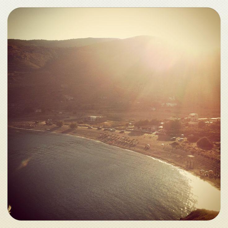 Spathi beach, Kea island, Cyclades, Greece,Beaches in Kea,Summer in Greece