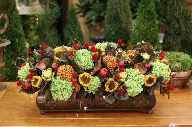 Floral Arrangements Long And Low : Best images about sunflower arrangements on pinterest