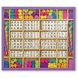 Melissa & Doug Deluxe Wooden Stringing Beads with over 200 beads (Toy)By Melissa & Doug