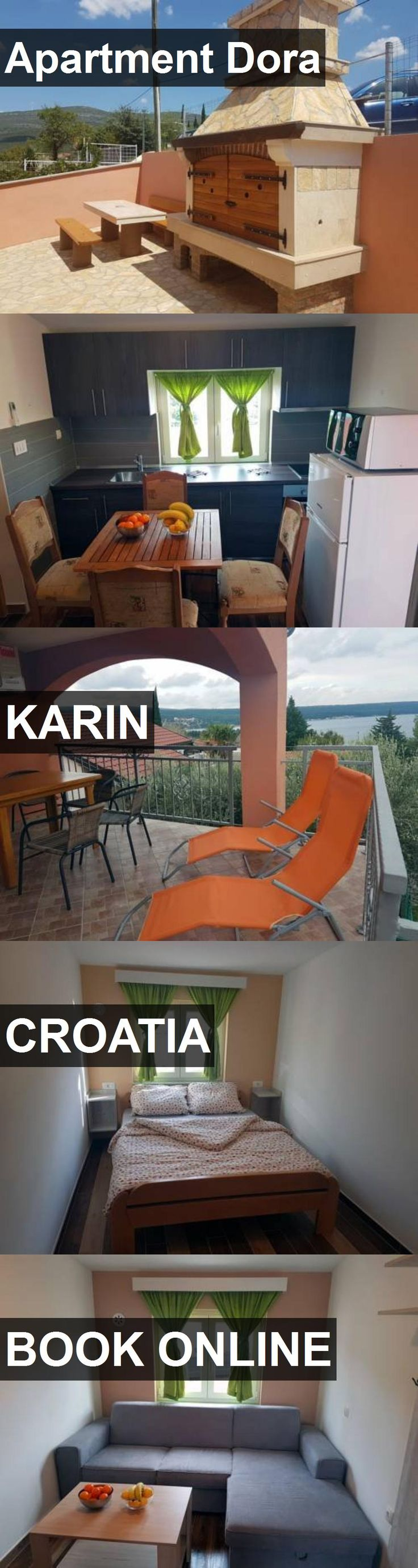 Apartment Dora in Karin, Croatia. For more information, photos, reviews and best prices please follow the link. #Croatia #Karin #travel #vacation #apartment