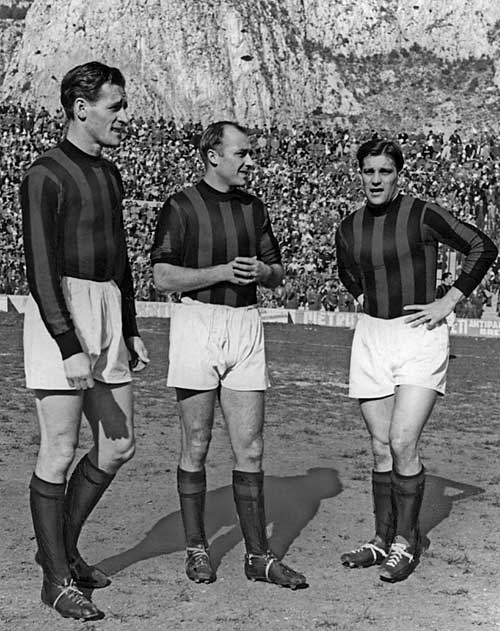 "Gunnar GREN (1949-1953, Gunnar NORDAHL (1949-1958) & Nils LIEDHOLM ""il Barone"" (1949-1961); Gre-No-Li,"