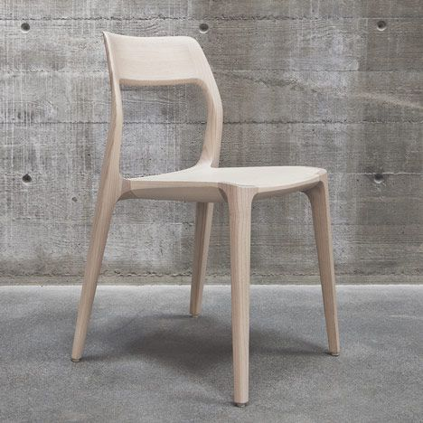 "takeovertime: "" November chair by Veryday Emilie Chalcraft, dezeen.com Product news: Swedish design consultancy Veryday picked up a Gold Award at the iF Design Awards last week for this wooden chair created for an art and design centre in Stockholm...."