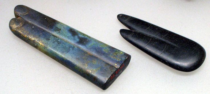 Two fingers amulet. Egypt, 664–332 B.C.