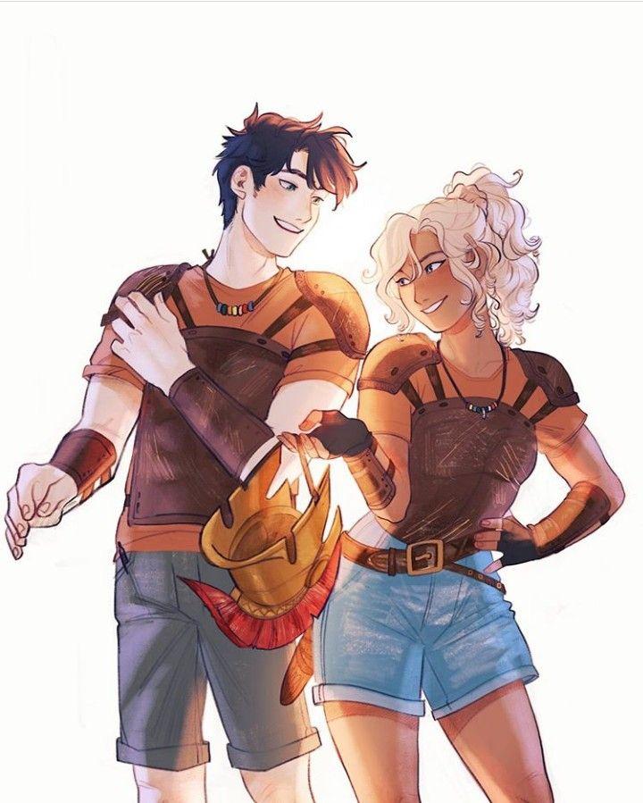 Percy Jackson y Annabeth Chase | Dibujos percy jackson, Personaje ...