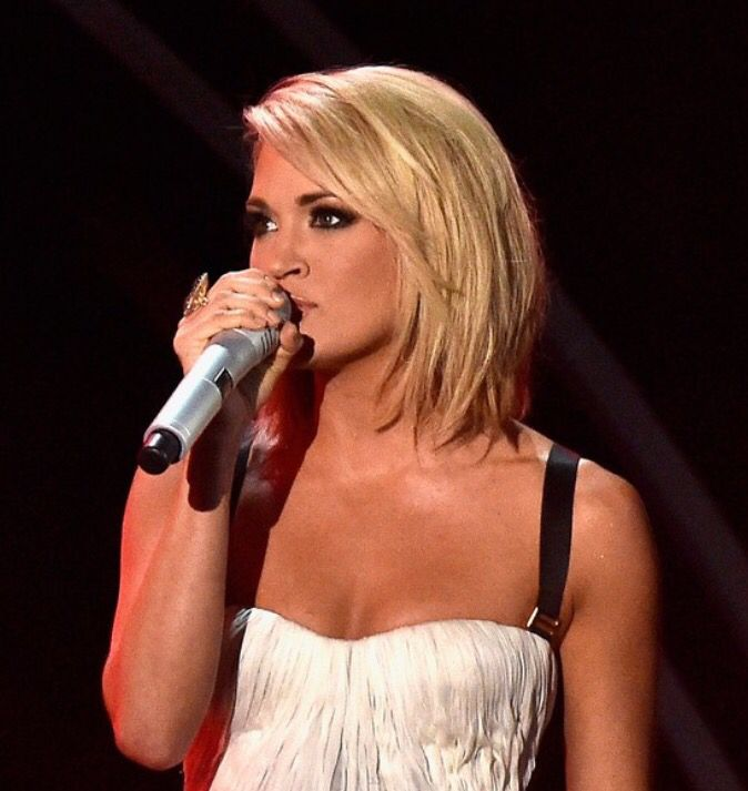Carrie Underwood Grammy Hair 2016  Medium Hair  Pinterest  My hair