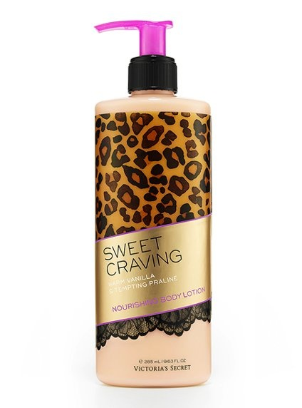 VS Attractions™ Sweet Craving® nourishing body lotion w/ warm vanilla and praline - 3/$30