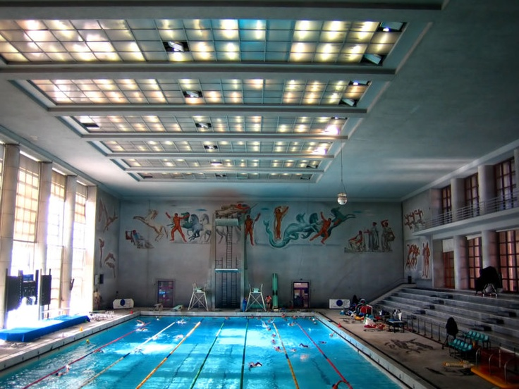 Foro Italico olympic pool (today)