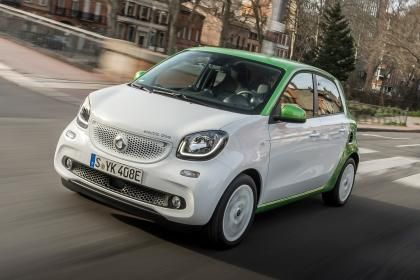New Smart ForFour Electric Drive EV 2017 review