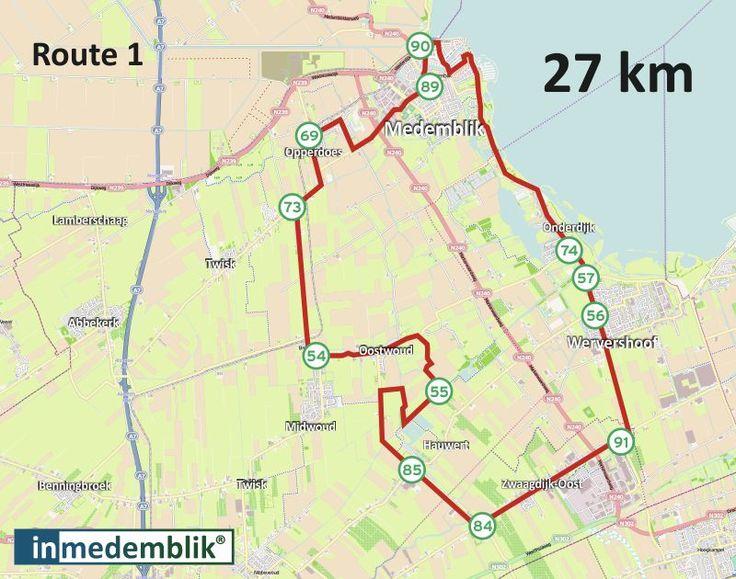InMedemblik - Fietsroutenetwerk West-Friesland