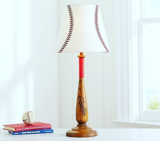 Beautiful Baseball Lamp  #Baseball #baseballlamp #lamp #lamps #decor #decors #home