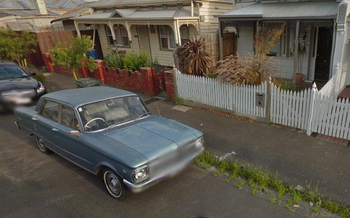 XP Falcon Caught On Google Street View - Australian National Old Car Spotters Club