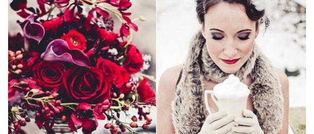 Téli esküvők színvilága