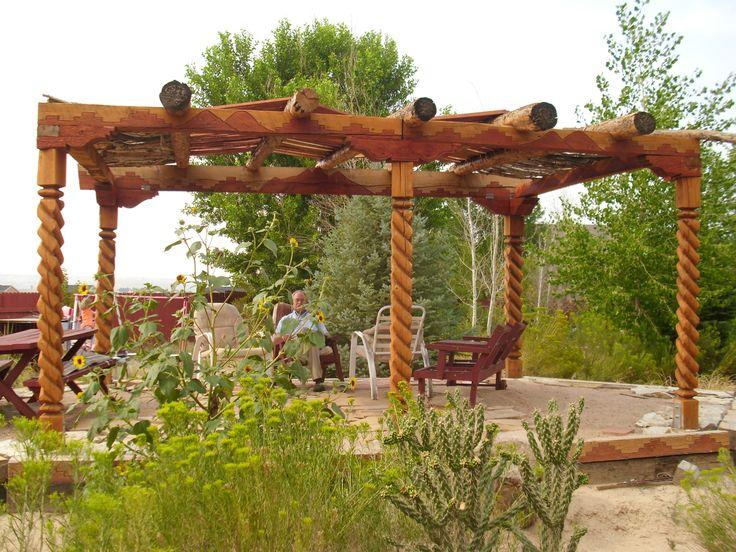44 Best Images About Pergolas On Pinterest Pine Logs