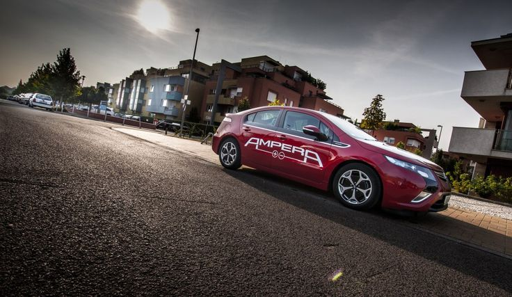 #opel #ampera, photo I took this morning for a magazin. tell me how you like it