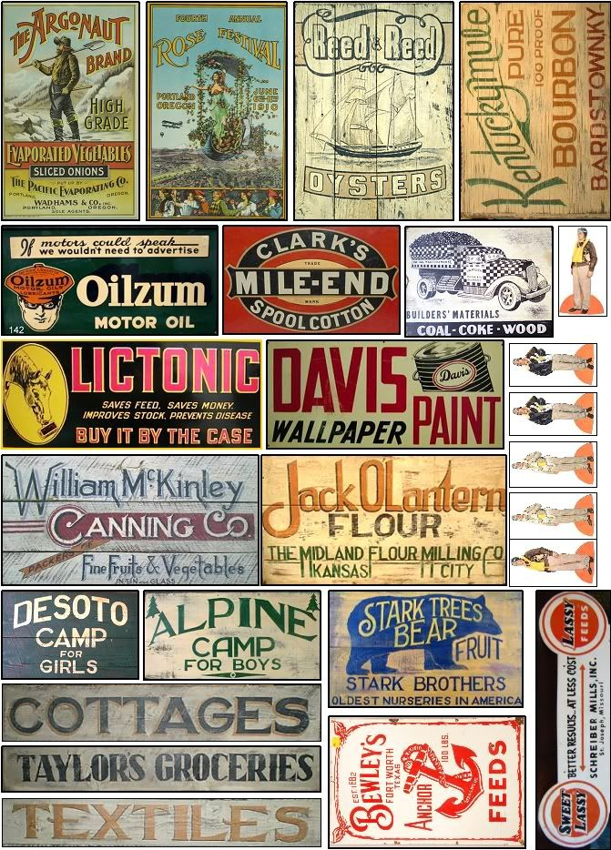 61 Best Old Signs And Miniature Printable Images On