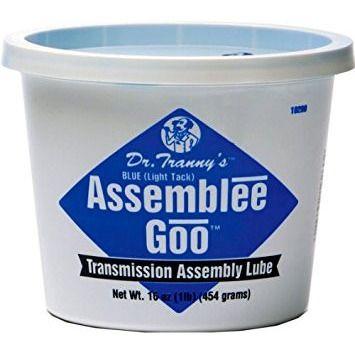 Lubegard 19260 Dr. Tranny Assemblee Goo, Blue, Light Tack Lubricant, 16 oz.