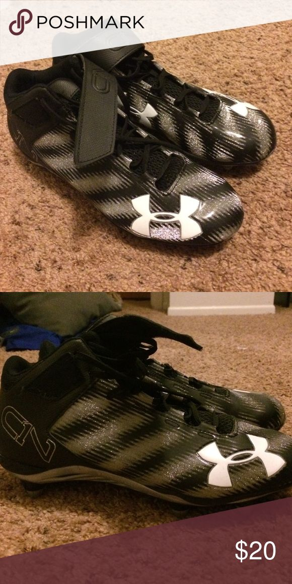 Under Armour Cam Newton Football Cleats Brand new pair of cleats never worn Under Armour Shoes Athletic Shoes