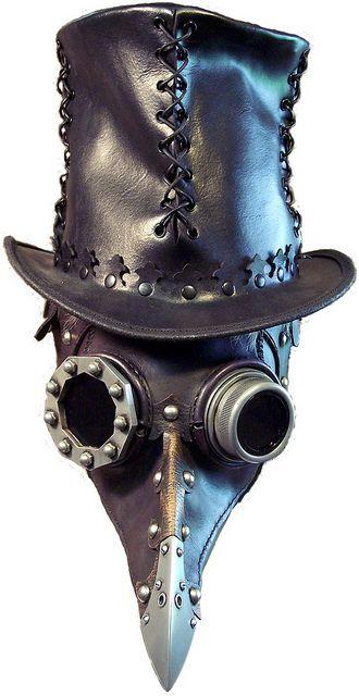 Más tamaños | Dr Beulenpest Steampunk Doctor, via Flickr.