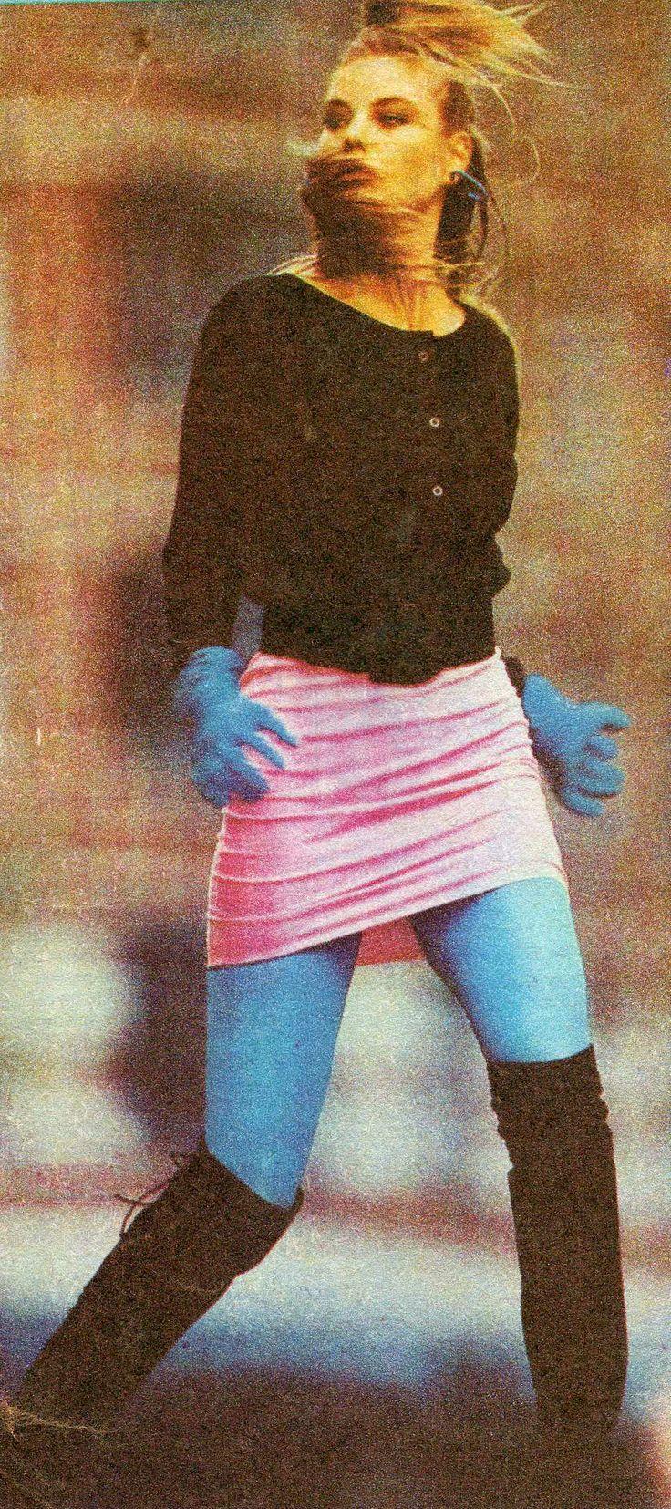 "from ""tylko dla ciebie"" wydawnictwo specjalne ""ŚWIATA MODY"" nr 1 '1988  models reprint from Harper's Bazar, Brigitte, Elle, Freundin, Annabella, Grazia."