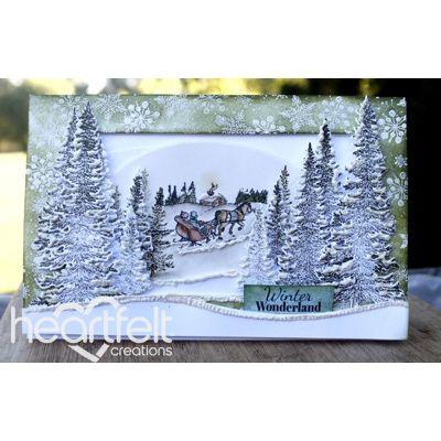 Heartfelt Creations - Winter Wonderland Sleigh Scene Project