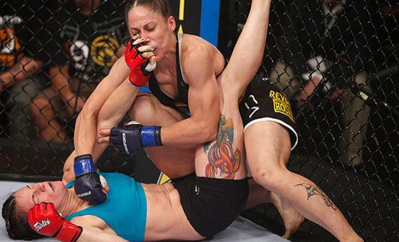 Dating a female mma fighter