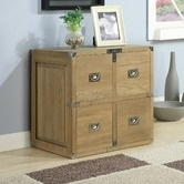 Found it at Wayfair.co.uk - Campaign Oak 4 Drawer Cube