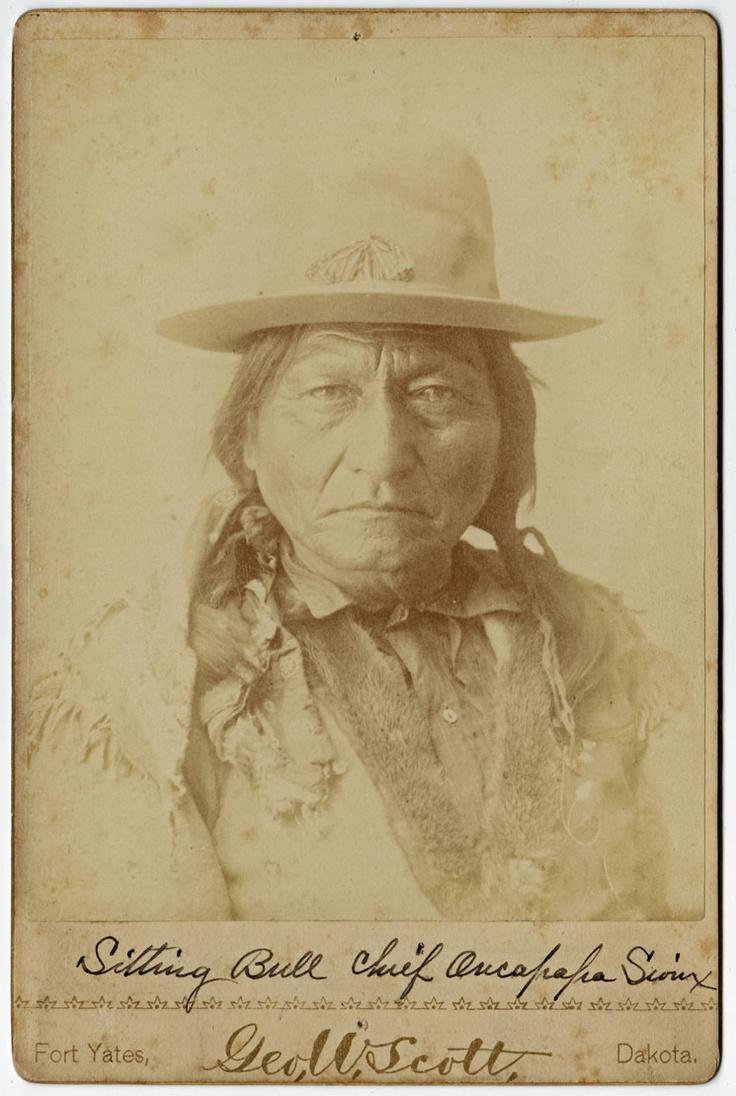 Sitting Bull: Hunkpapa Sioux (Lakota) Chieftain and Warrior