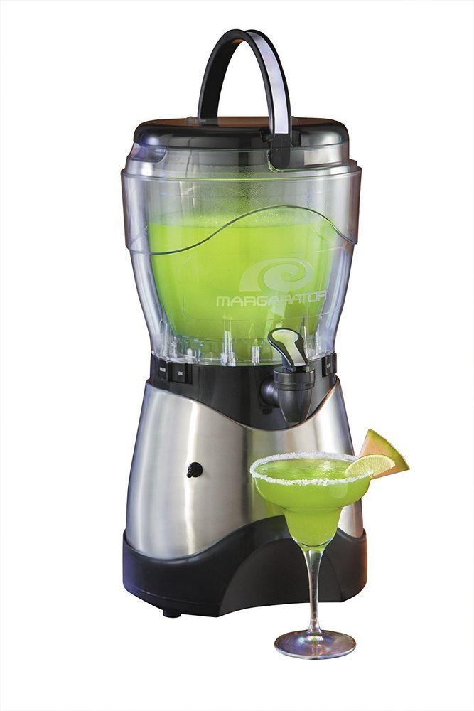 Margarita Slush Maker Frozen Drink Ice Beverage Machine Slushie Daiquiri Slushes #NostalgiaElectrics