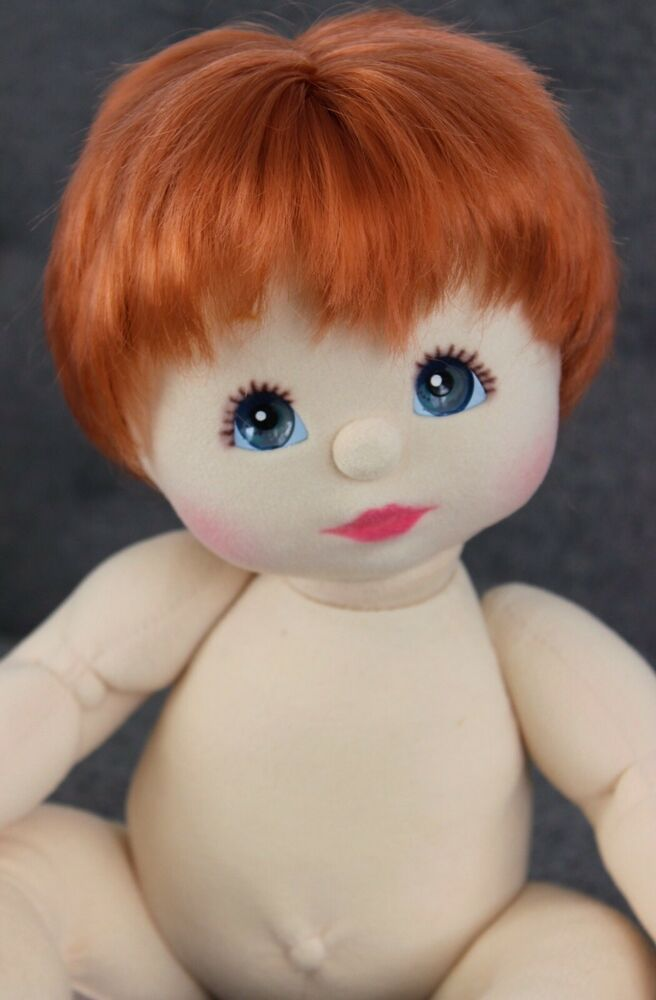 My Child Doll Red Haired Canadian Boy Blue Eyes Red Hair
