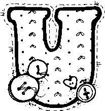 Artigo relacionado MOLDES DE LETRAS PATCHWORK contenido em Moldes de letras