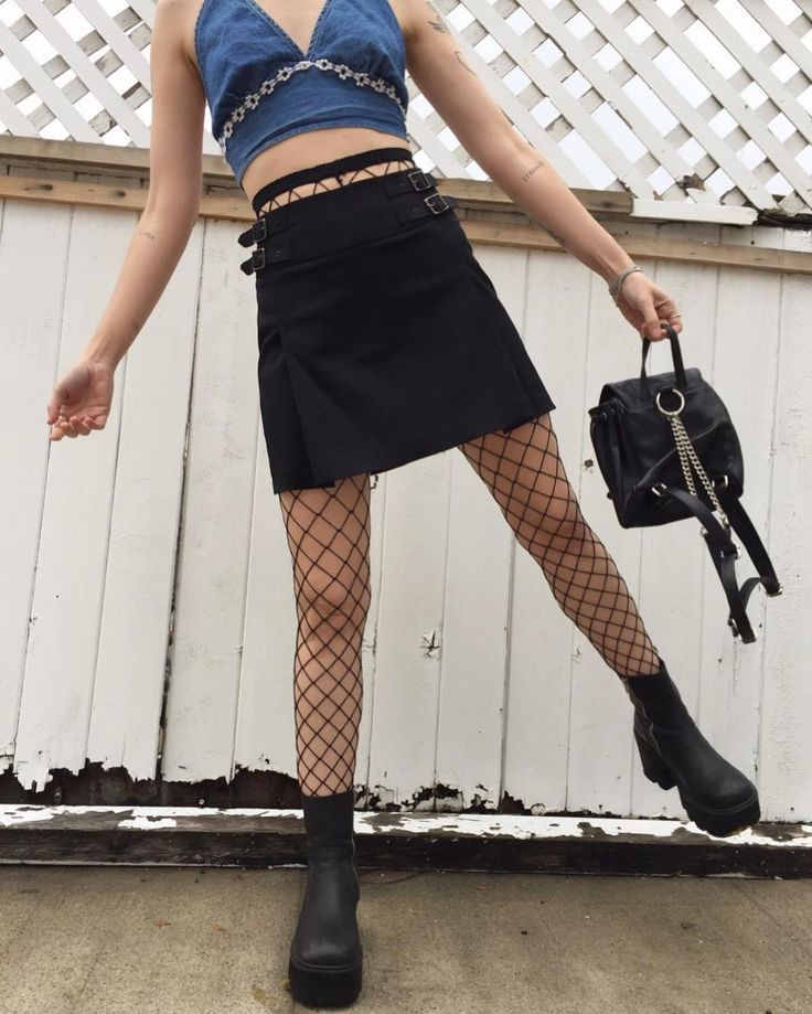 Skirt tights bag and halter top all up for grabs NOW in our new arrivals!