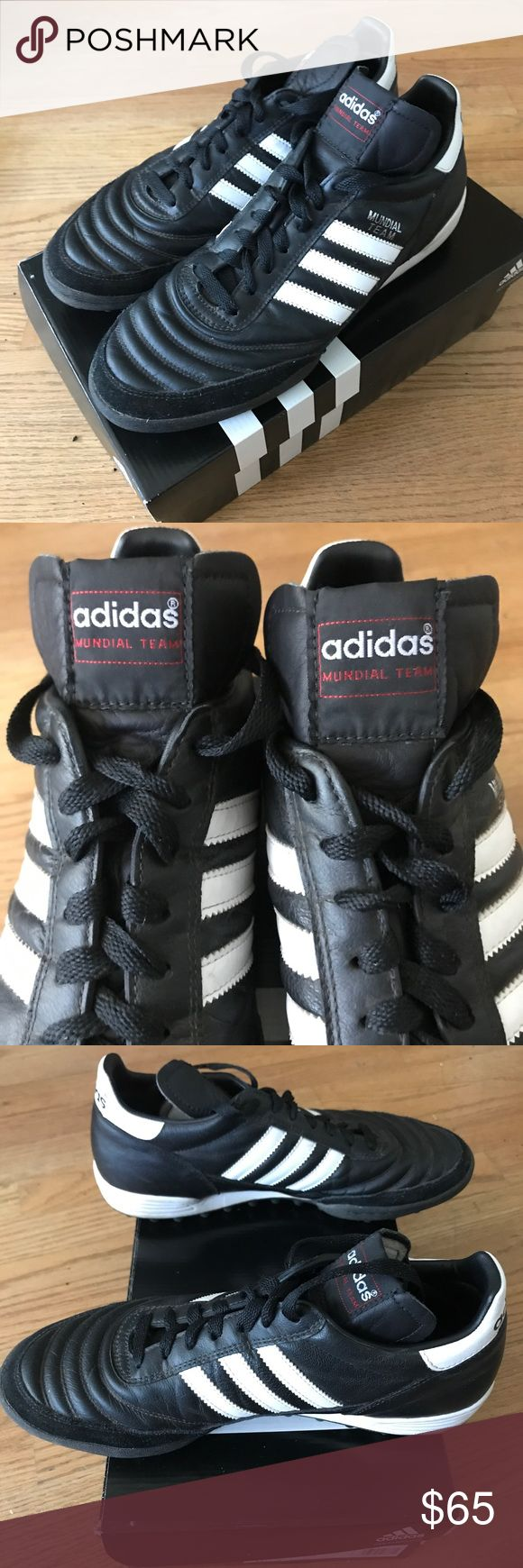 adidas Mundial Team Turfs adidas Mundial turfs worn just 3 times! Great condition with original box. adidas Shoes Athletic Shoes