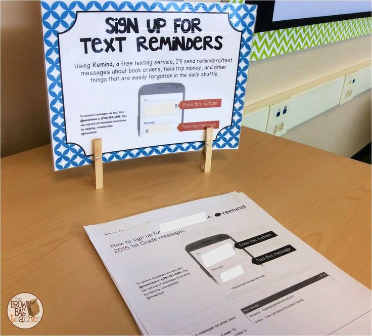 Ideas for Open House Stations - Twiiter, Remind 101, Supplies